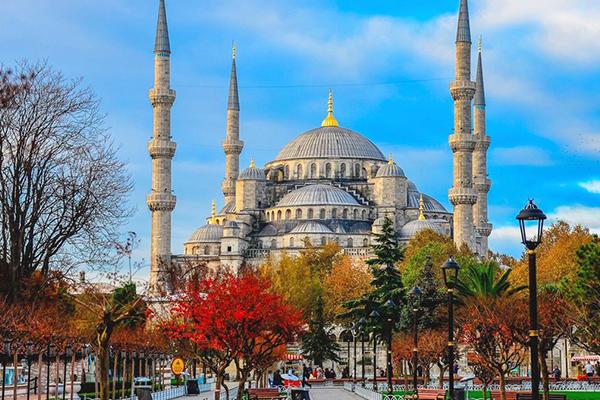 Ноябрьские праздники в Стамбуле
